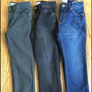 Old Navy 🏀Lot of 3 Boys Pants Size 8...GUC